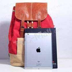 Красненький городской рюкзак с отсеком для планшета/нетбука.