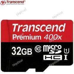 Отличная флешка в смартфон TRANSCEND Premium 32GB Class 10