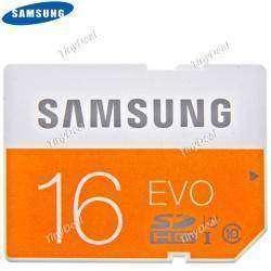 Флешка SAMSUNG 16GB EVO Class 10 UHS-1 SDHC 48MB/s