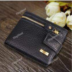 Men's Fashion Creative Purse Leather Multi Functional Wallet