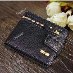 Men's Fashion Creative Purse Leather Multi Functional Wallet