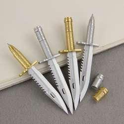 Небольшой обзор игрушечных ручек-винтовок и ручек-ножей