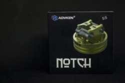 ADVKEN NOTCH RDA - универсальная дрипка для опытных и новичков