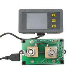 VAC1100A ампервольтметр с диапазоном измерения до 120V 100A и немного 'рукоприкладства'