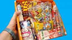 Пробуем странные японские сладости и снэки