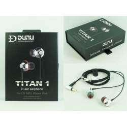 Dunu Titan 1. Наушники которые снискали популярность не только среди рядовых любителей музыки, но и у требовательных аудиофилов.