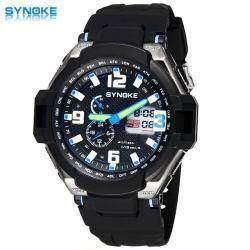 Дешевые часы Synoke и тест на водонепроницаемость