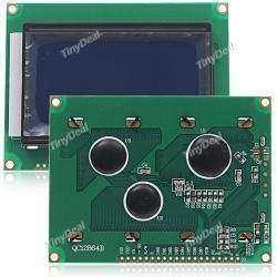 Графический монохромный дисплей LCD12864B