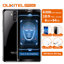 Oukitel K6 - первый с NFC