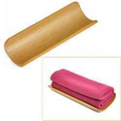 Бамбуковая подставка для 'чайных' полотенец
