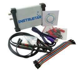 USB осциллограф Instrustar ISDS205C с функциями логического, спектрального анализатора и регистратора данных.