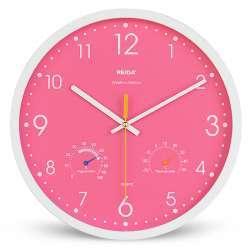 Настенные часы с гигрометром и термометром