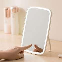 Makeup mirror with lighting effects—JJ Desktop LED Makeup Mirror