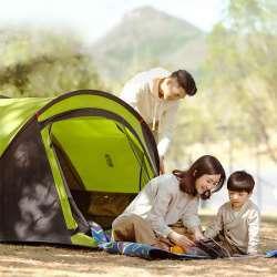 Легкая палатка - обзор двухслойной автоматической палатки Zaofeng