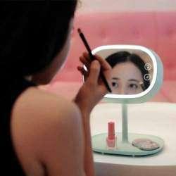 Обзор зеркала 3 в 1: зеркало, ночник и ниша для аксессуаров.