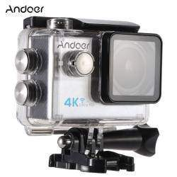 Экшен-камера Andoer - 4к видео + полный набор аксессуаров =~50 баксов