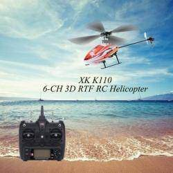 Вертолёт XK K110 6CH 3D Brushless RTF , стоит ли новичку брать или нет?