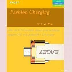 Обзор флеш накопителя EAGET V80 64 GB USB 3.0 OTG