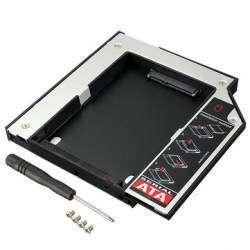 Карман для ноутбука под 2.5' SSD/Sata винт (вместо привода) 12.7 мм