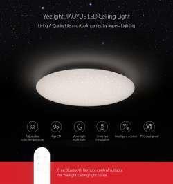Xiaomi Yeelight JIAOYUE 450 - умный потолочный светильник