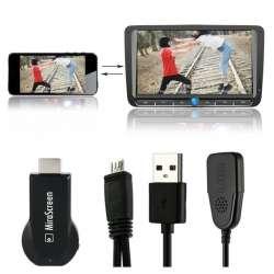 Устройство беспроводной связи между смартфоном/компьютером и ТВ/монитором (DLNA монитор)