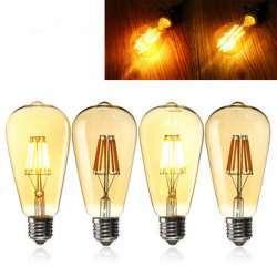 Филаментная лампочка ST64 8W