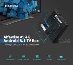 Миниатюрный тв -бокс Alfawise A9 на Amlogic S905 с Android 8.1