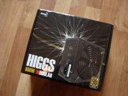 Блок питания для компьютера под названием Aerocool higgs 650w modular