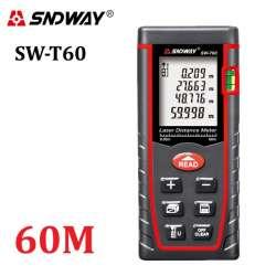 Обзор Sndway SW-T60 лазерный дальномер - рулетка 60 метров