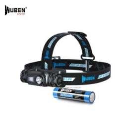 Обзор налобного фонаря Wuben H1 - 18 650/зарядка/стабилизация