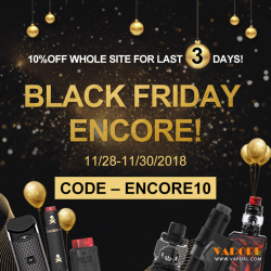 Vaporl Deal Alert - 10% off Sitewide For Everything|Encore10