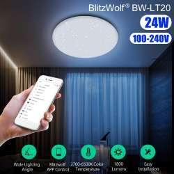 Потолочный Smart светильник Blitzwolf BW-LT20
