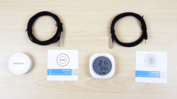 Inkbird IBS-TH1 и IBS-TH1 plus: термометры и гигрометры c Bluetooth, приложением для смартфона и функцией регистратора