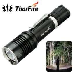 ThorFire VG10S XPL2 ультра яркий Тактический мощный светодиодный фонарик 1100LM 5 режимов Кемпинг Пеший Туризм Охота факел 18650