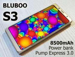 Bluboo S3 - 8500мАч емкости под красивой внешностью