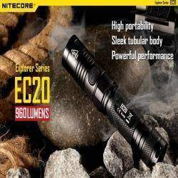 Замораживаем и тестируем фонарик NITECORE EC20