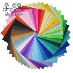 40 лоскутов разноцветной ткани. Делаем подарочные новогодние корзинки с помощью этой ткани!