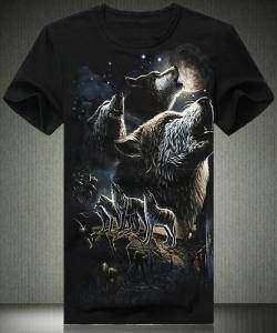 Злая волчья долина - футболка с принтом.