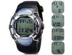 Обзор электронных часов KYTO с пульсомером, шагомером, счетчиком калорий.
