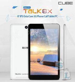 Планшет Cube Talk 8X U27GT-C8, толи небольшой планшет, толи большой смартфон