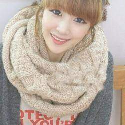 High Quality Warm Women Scarfs Thicking Solid Woolen Soft Neckerchief