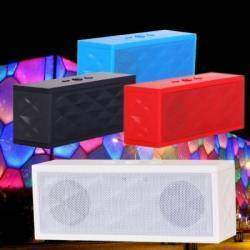 Mini Water Cube Hands-free Wireless Bluetooth V3.0+EDR Stereo Speaker TF/FM / Bluetooth Music Player