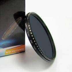 Обзор переменного нейтрально серого светофильтра Nicna, диаметром 77 мм