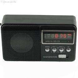 Компактный и качественный спикер c FM радио