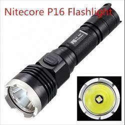 Тестируем тактический фонарик Nitecore P16