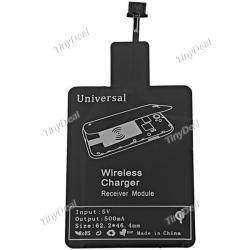 Универсальный Qi-адаптер с micro-USB для беспроводной зарядки телефонов