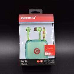 Обзор гламурных наушников GENIPU с неплохим звуком и стильным дизайном