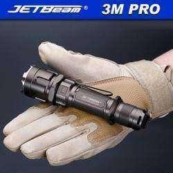 Мощный тактический фонарик Jetbeam 3M Pro XP-L 1x18650/2xRCR123A 1100Lm