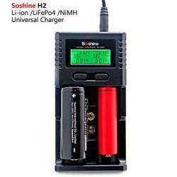 Полуавтоматическое зарядное устройство Soshine SC-H2 V2