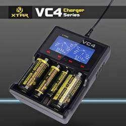 XTAR VC4 - умная зарядка для Li-ion и Ni-MH аккумуляторов